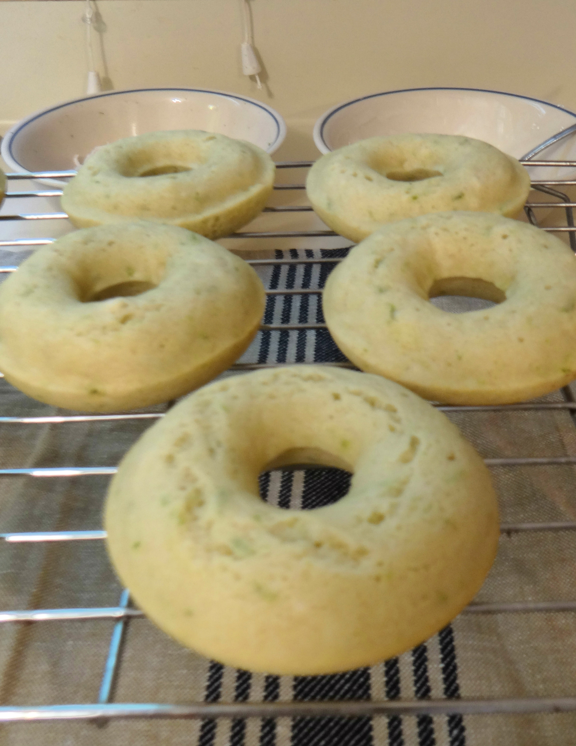 key lime donuts baked with specks (edited)